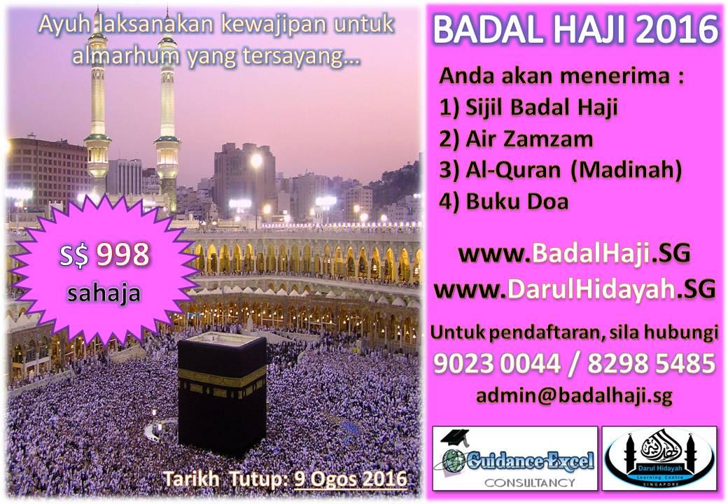 Badal Haji 2016