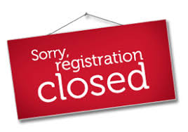 registration closed2
