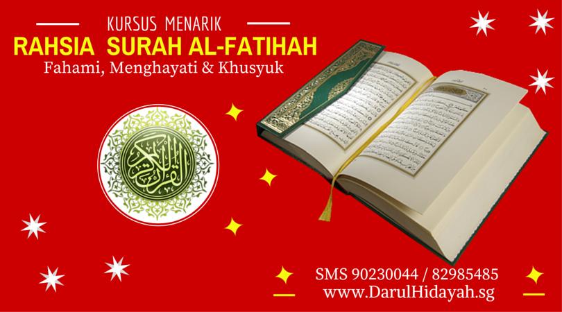 Rahsia Surah Alfatihah (1)