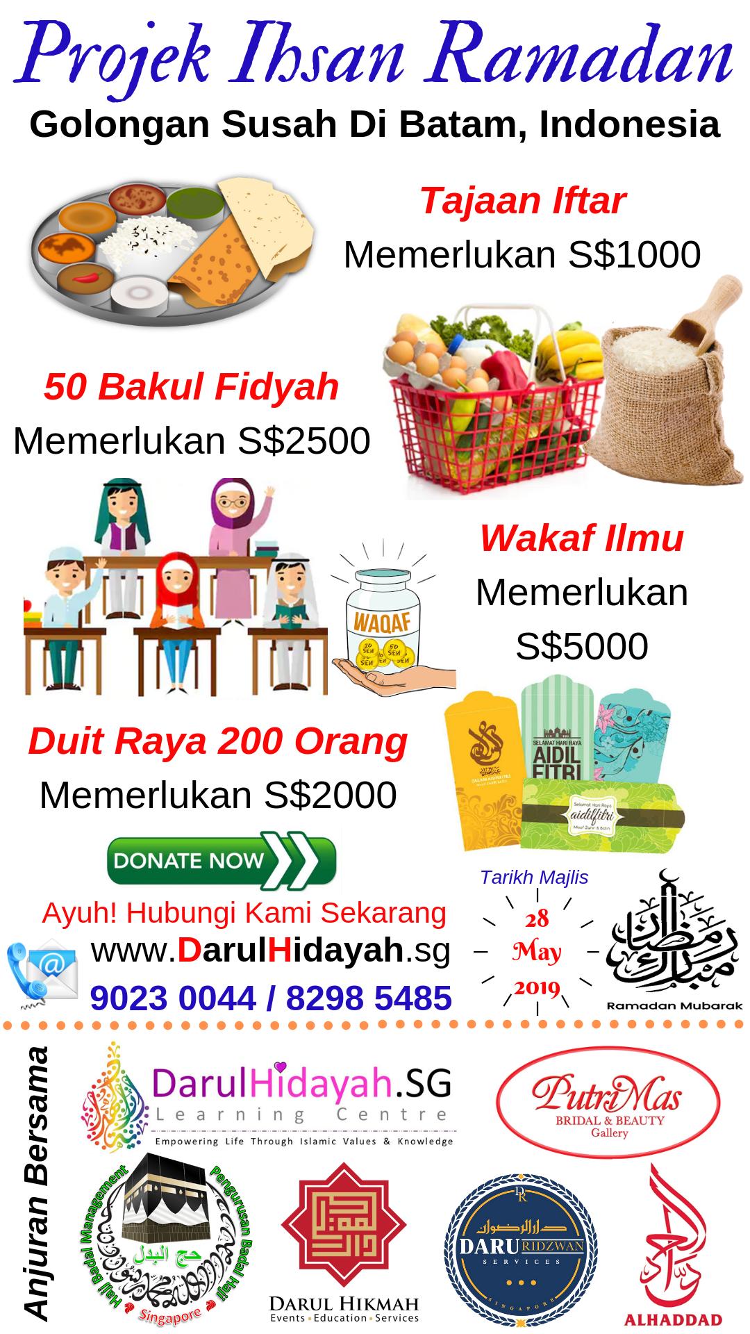 Projek Ihsan Ramadan Batam 2019